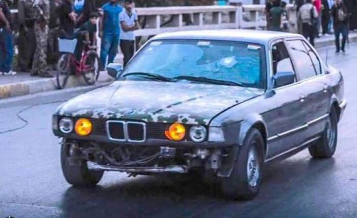 Бронированный BMW 7-Series, который помог сохранить десятки жизней