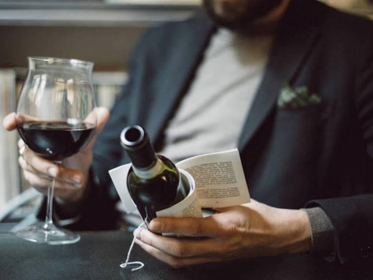 Гениальная бутылка вина: этикетка содержит небольшой рассказ