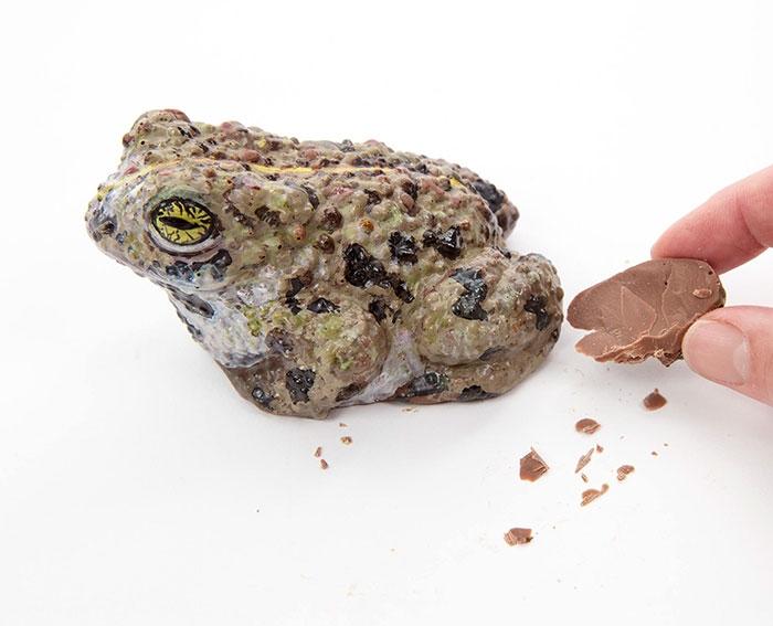 Крутые шоколадные фигуры от Сары Харди