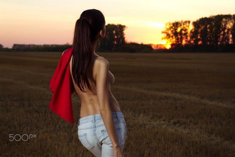 Потрясающей красоты снимки девушек