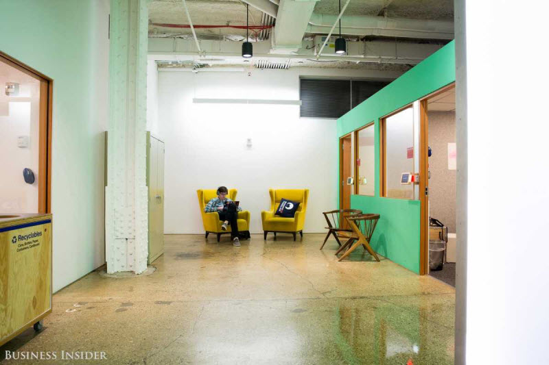 Внутри офиса Facebook в Нью-Йорке