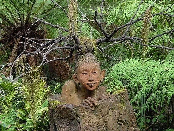 Лесные скульптуры от Бруно Торфса