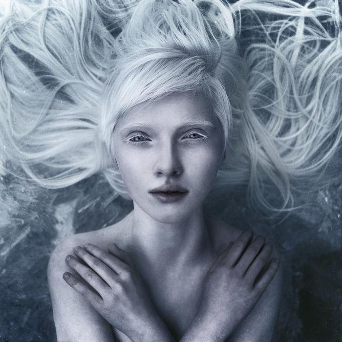 Необычная красота людей-альбиносов