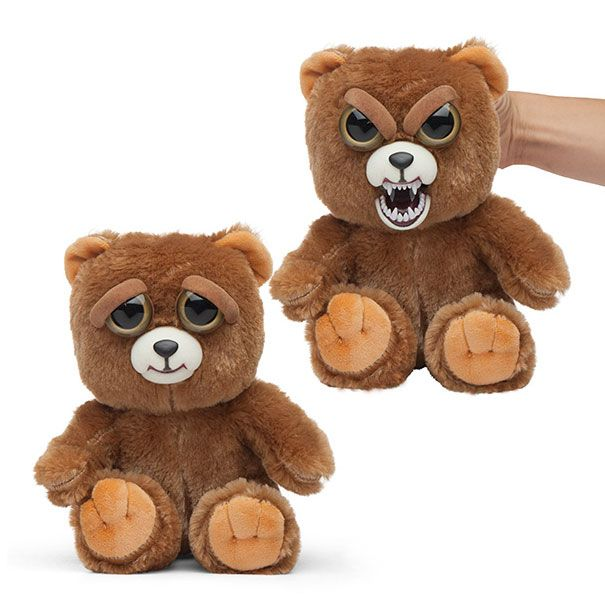 Необычные плюшевые игрушки