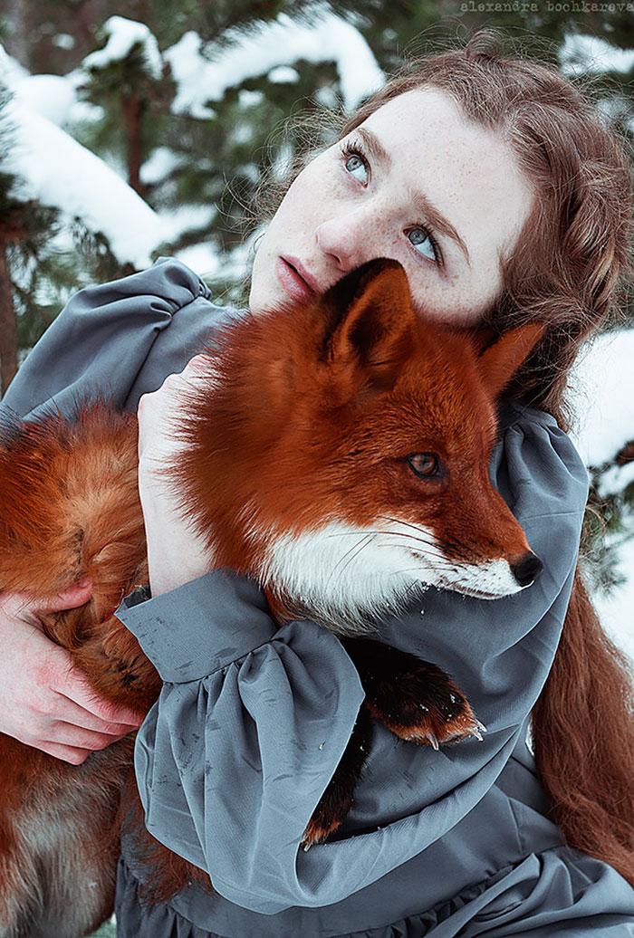Прирученная рыжая краса в фотографиях Александры Бочкарёвой