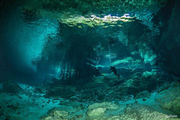 Воронка Сенот в Мексике