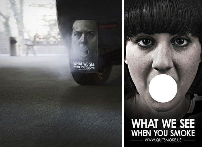 Эффективная антитабачная реклама