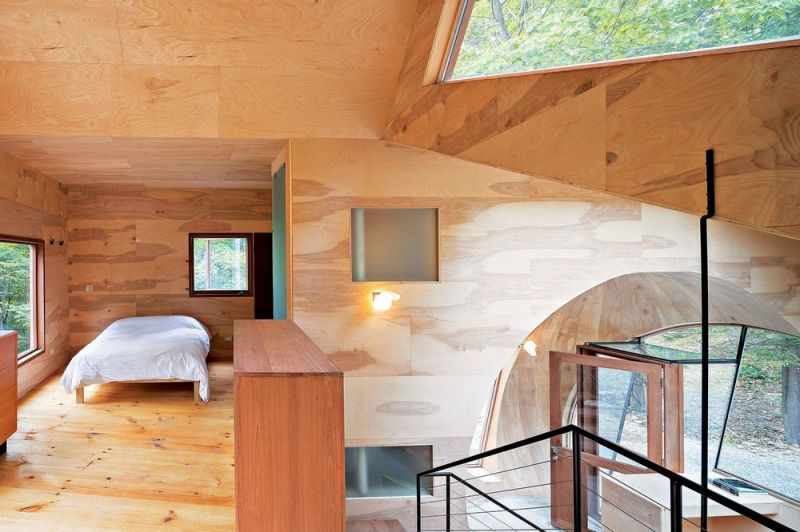 Гостевой домик в лесу США