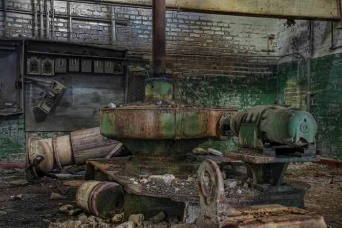 Заброшенная пивоварня в Новом Орлеане