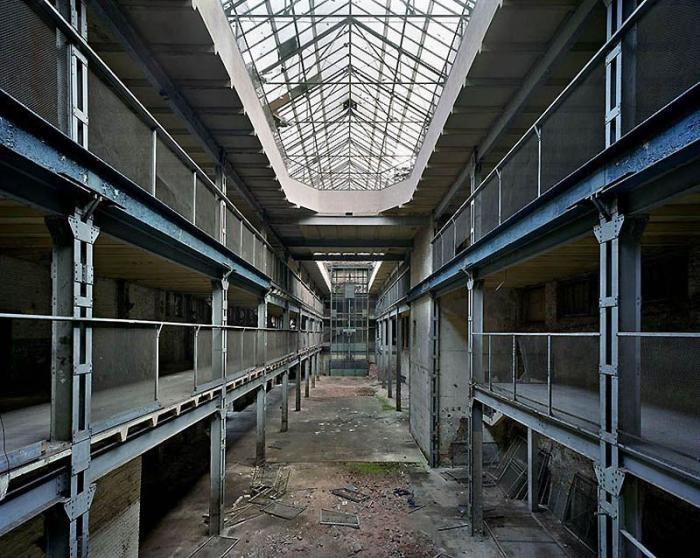 Заброшенные здания в Восточной Германии