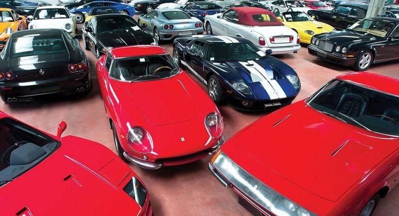 430 редких авто изъяли у итальянского бизнесмена