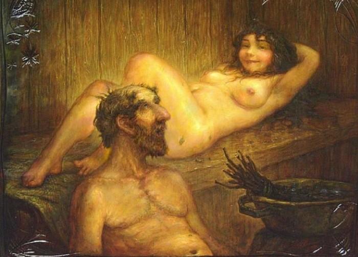 Как славяне любви предавались