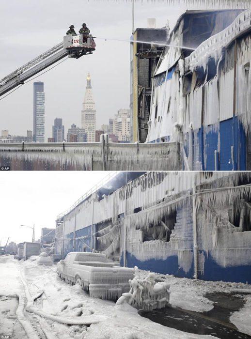 10 удивительных примеров экстремально холодной погоды