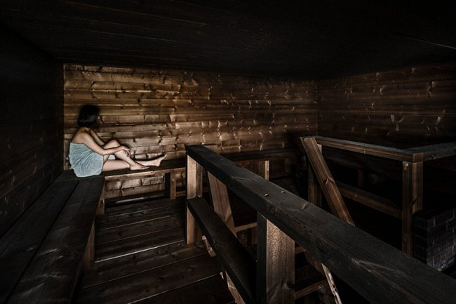 Необычная сауна открылась в Финляндии