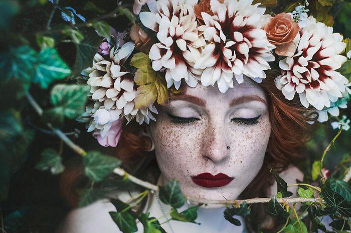 Притягательная красота веснушчатых людей