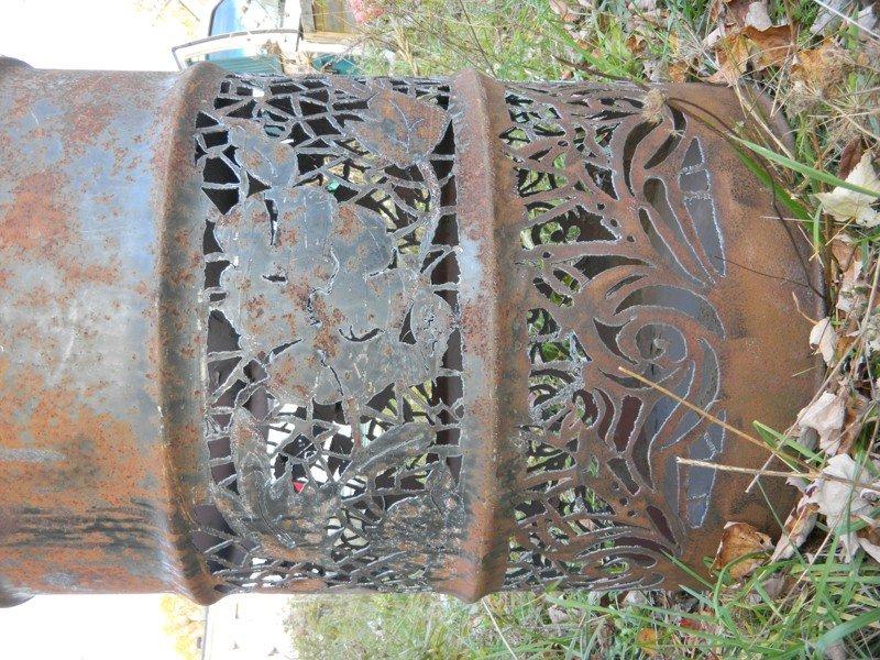 Впечатляющие примеры резьбы по металлу