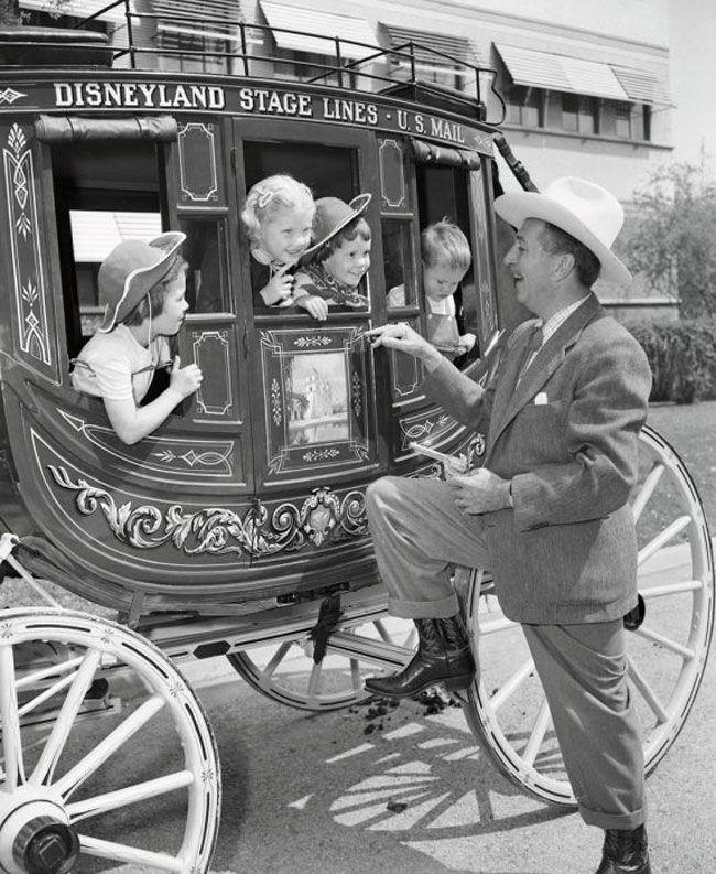 Волшебные фотографии с открытия первого Диснейленда в 1955 году