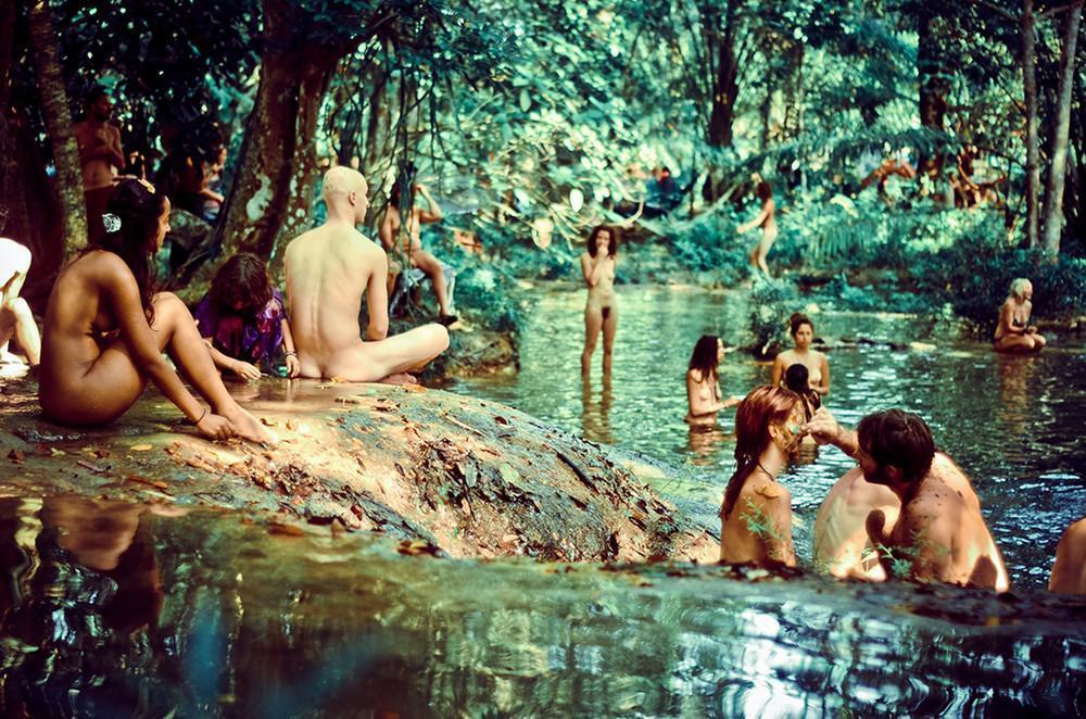 Встреча племен радуги: собрания современных хиппи