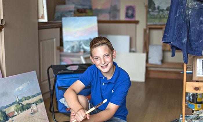 12-летний мальчик купил родителям дом у озера