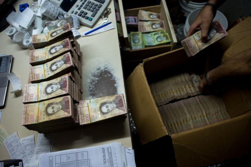 Инфляция в Венесуэле: деньги теперь взвешивают, а не пересчитывают