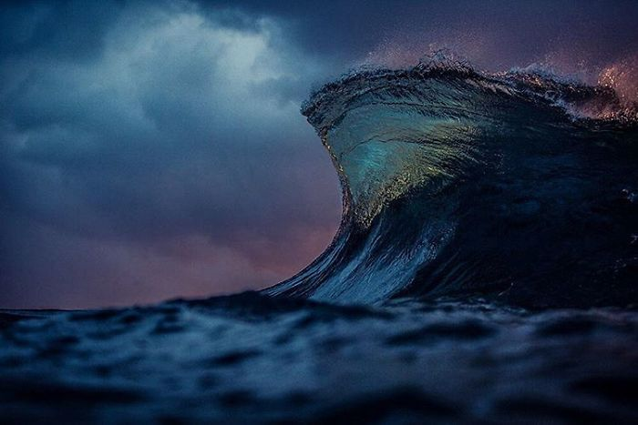 Море как горы