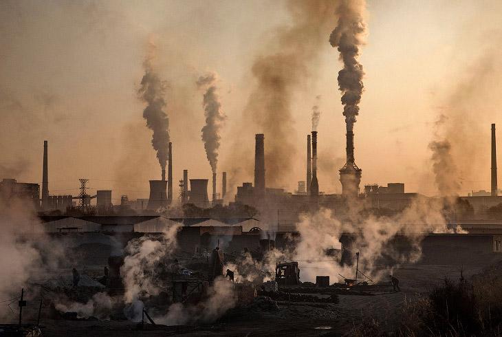 Подпольные сталелитейные заводы в Китае