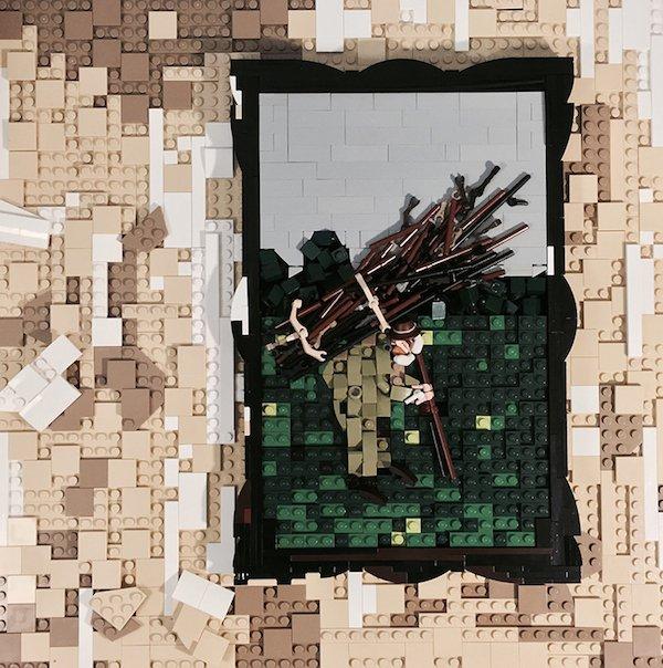 Потрясающие творения из LEGO в натуральную величину