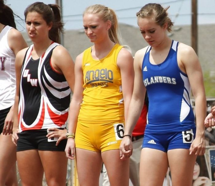 Девушки в спорте
