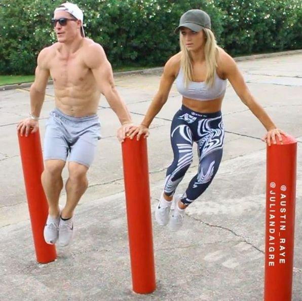 Мотивация от американской фитнес-пары
