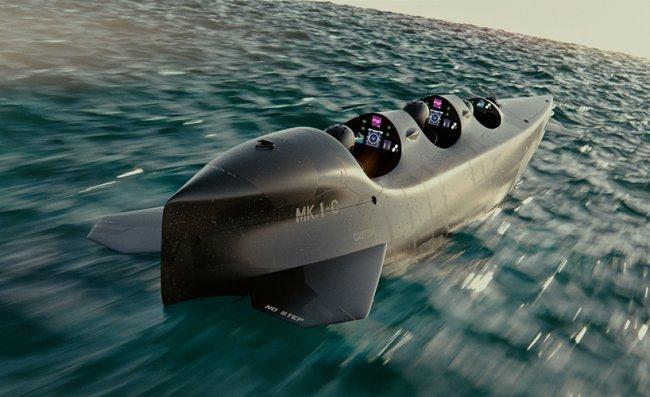 Подводная лодка на 3 человека