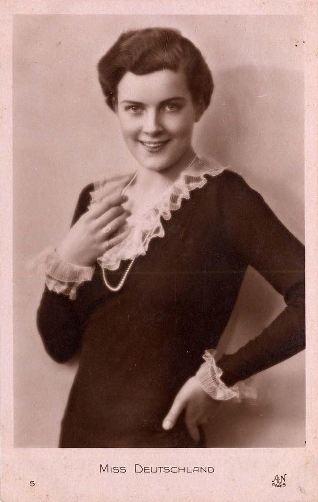 Ретрокрасавицы с конкурса Мисс Европа 1930