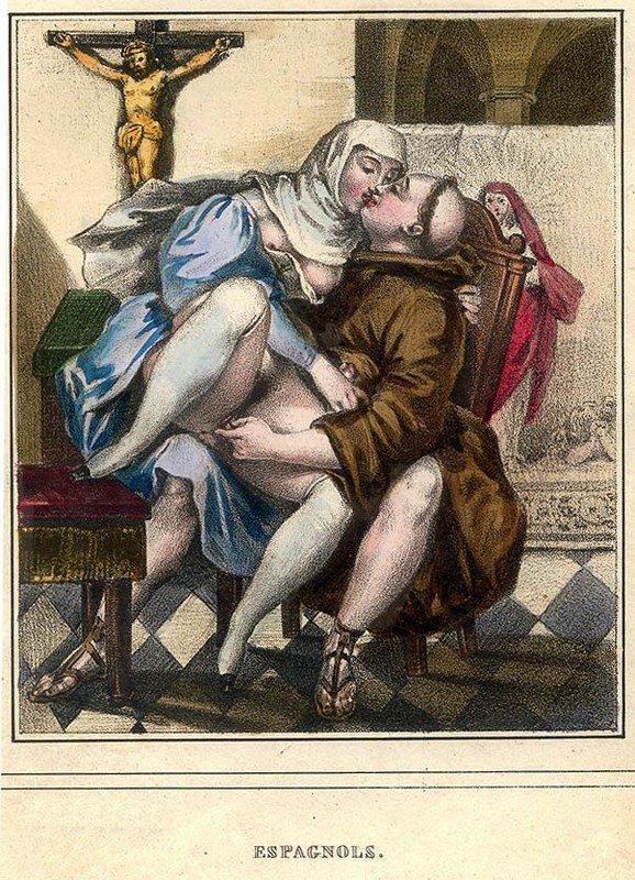 Сексуальное путешествие в XIX веке по миниатюрам Ашиля Девериа