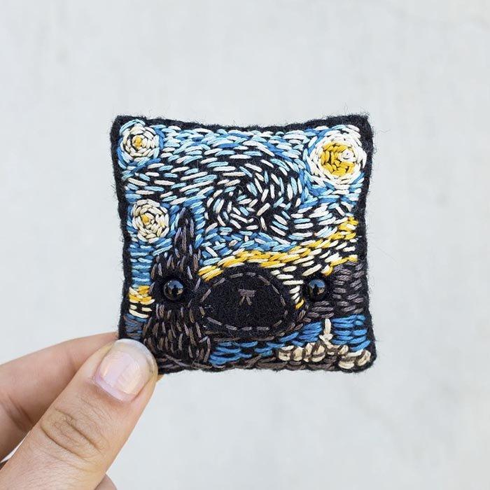 Войлочные подушечки-зверьки от Бекки Марграф