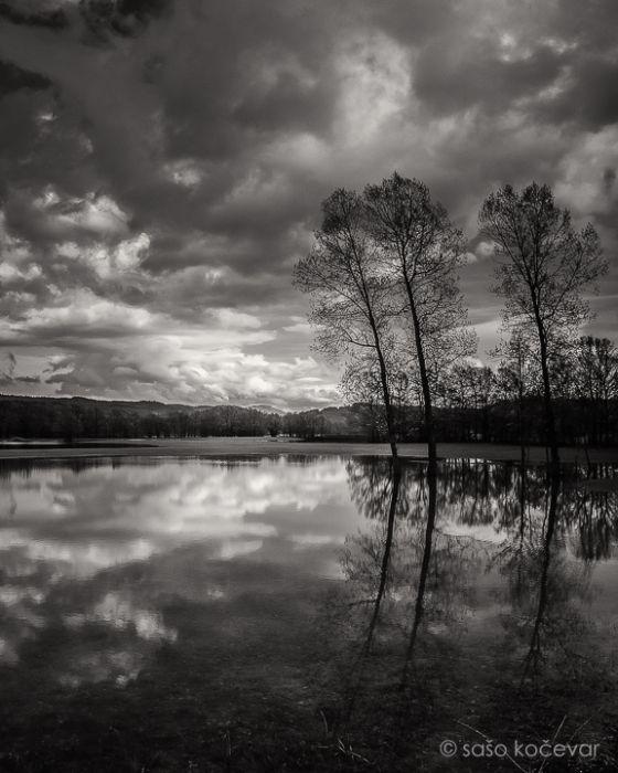 Чёрно-белые пейзажи Словении