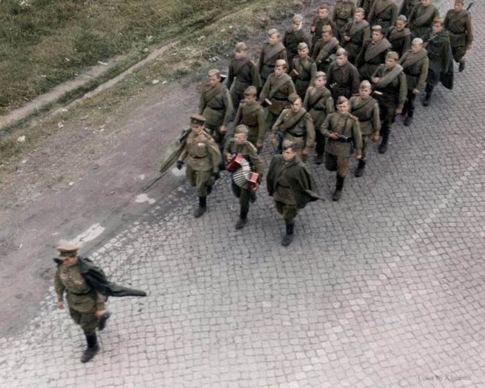 Герои великой отечественной войны в цвете
