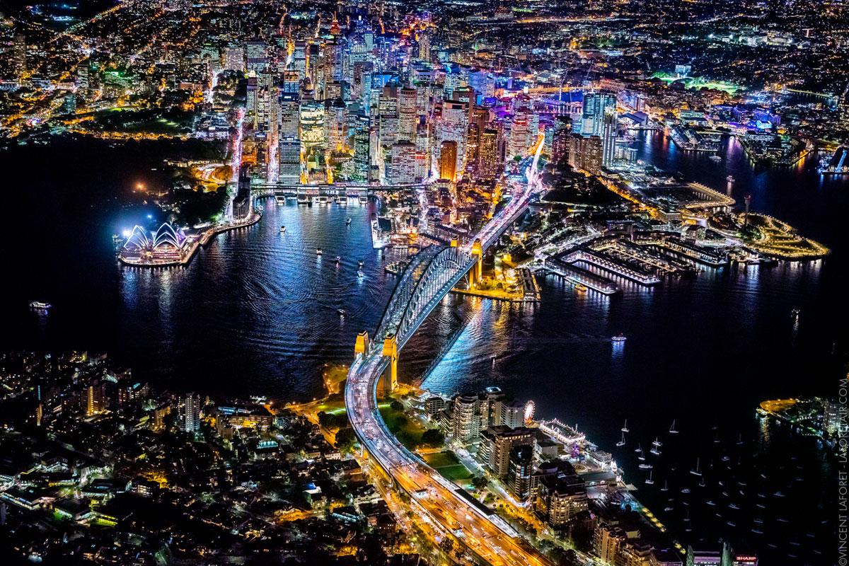 Ночные панорамы крупнейших городов мира