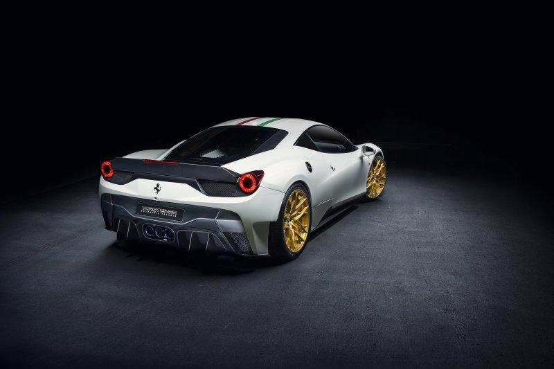 Vorsteiner представил новую Ferrari 458-VX Italia