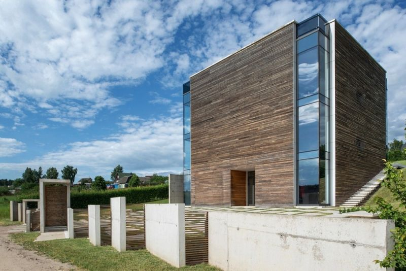 Дом в стиле функционального минимализма под Минском