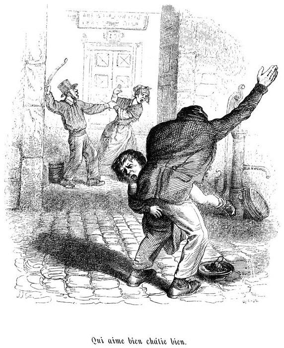Как надоевших жен продавали в Англии XVIII-XIX вв