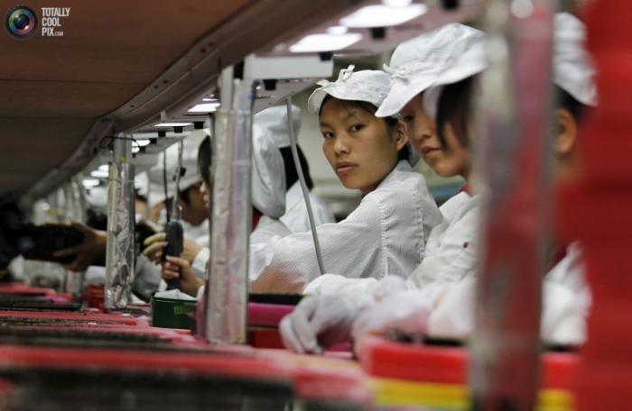 Весь Китай - огромная фабрика