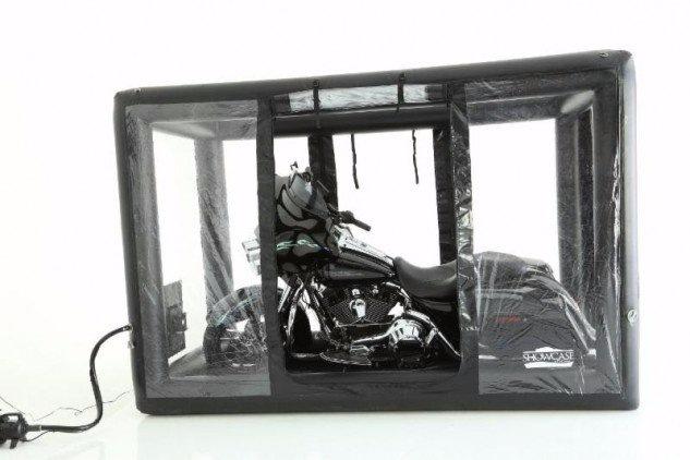 BikeCapsule - надувной гараж для мотоцикла