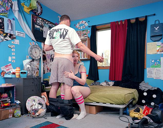 Онлайн-интим в фотопроекте Эвана Бейдена