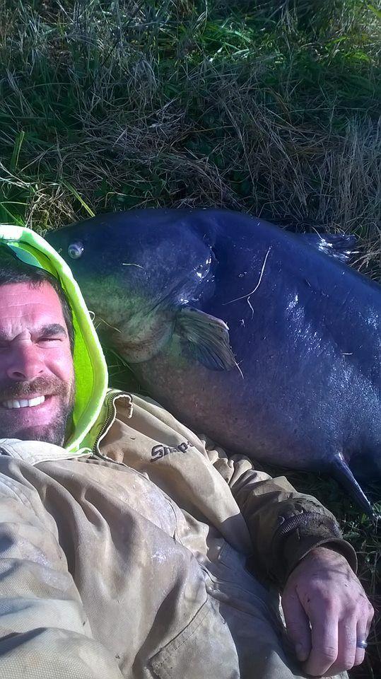Сом весом 51 кг: почти рекордный улов