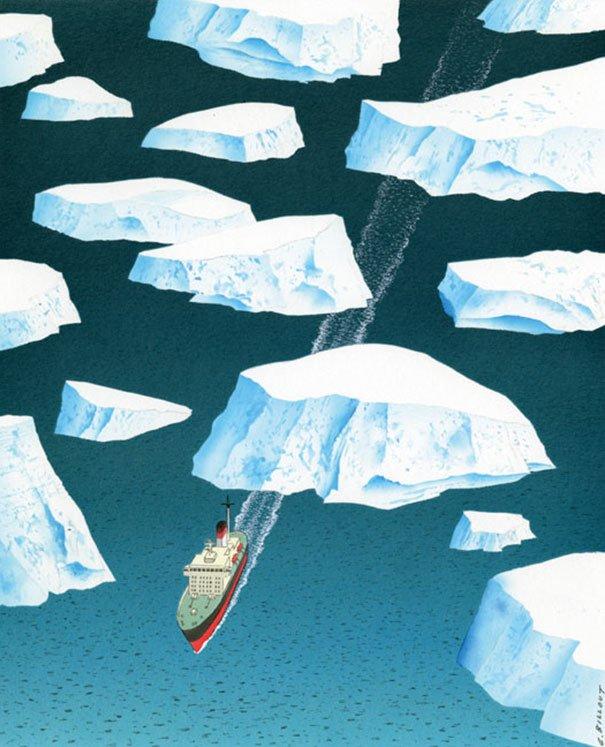 Сюрреалистические иллюстрации от Ги Биллю