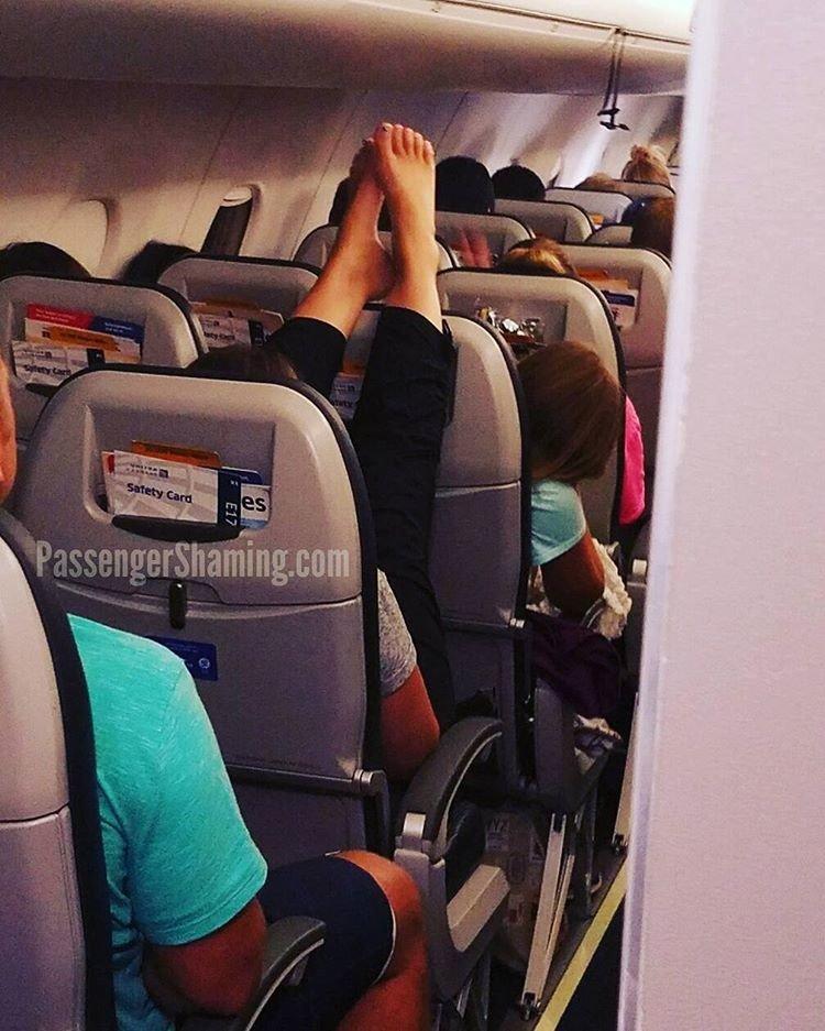 Отвратительные пассажиры самолетов