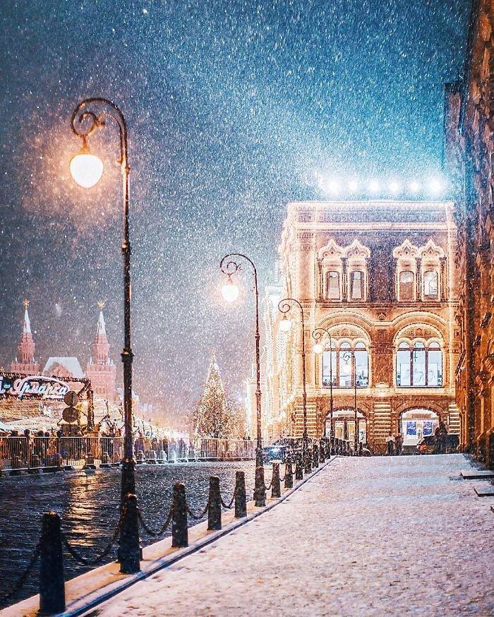 Предновогодняя Москва в объективе Кристины Макеевой