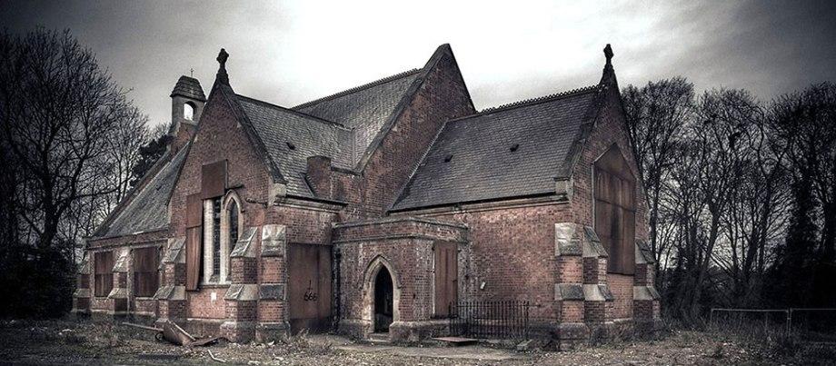 Заброшенная психиатрическая больница в Великобритании
