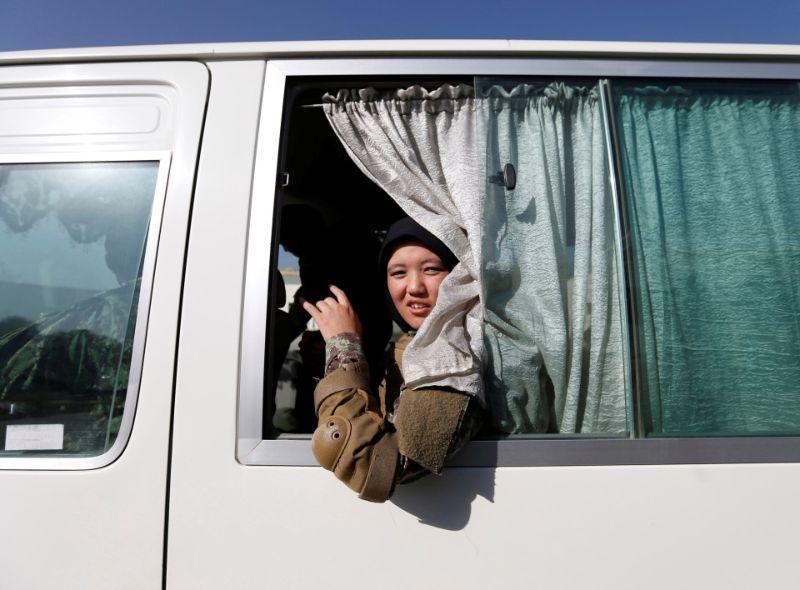 Женщины на обучении в военной академии Кабула