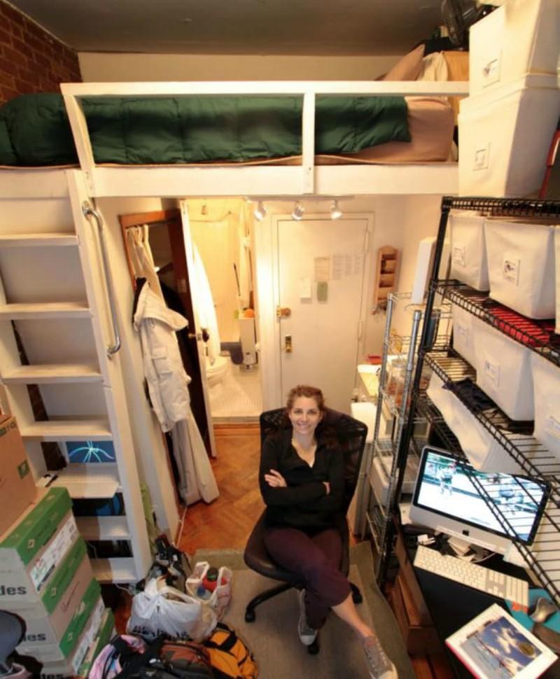 14 шокирующе маленьких жилищ мира