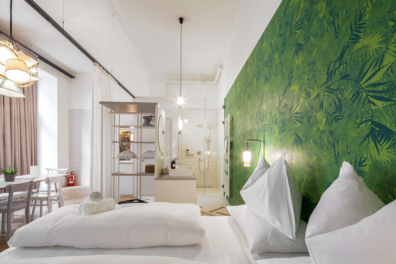 Домашняя обстановка в отеле Grtzlhotel в Вене